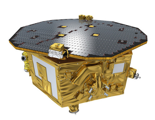 Lisa Pathfinder Science Module and Solar Array
