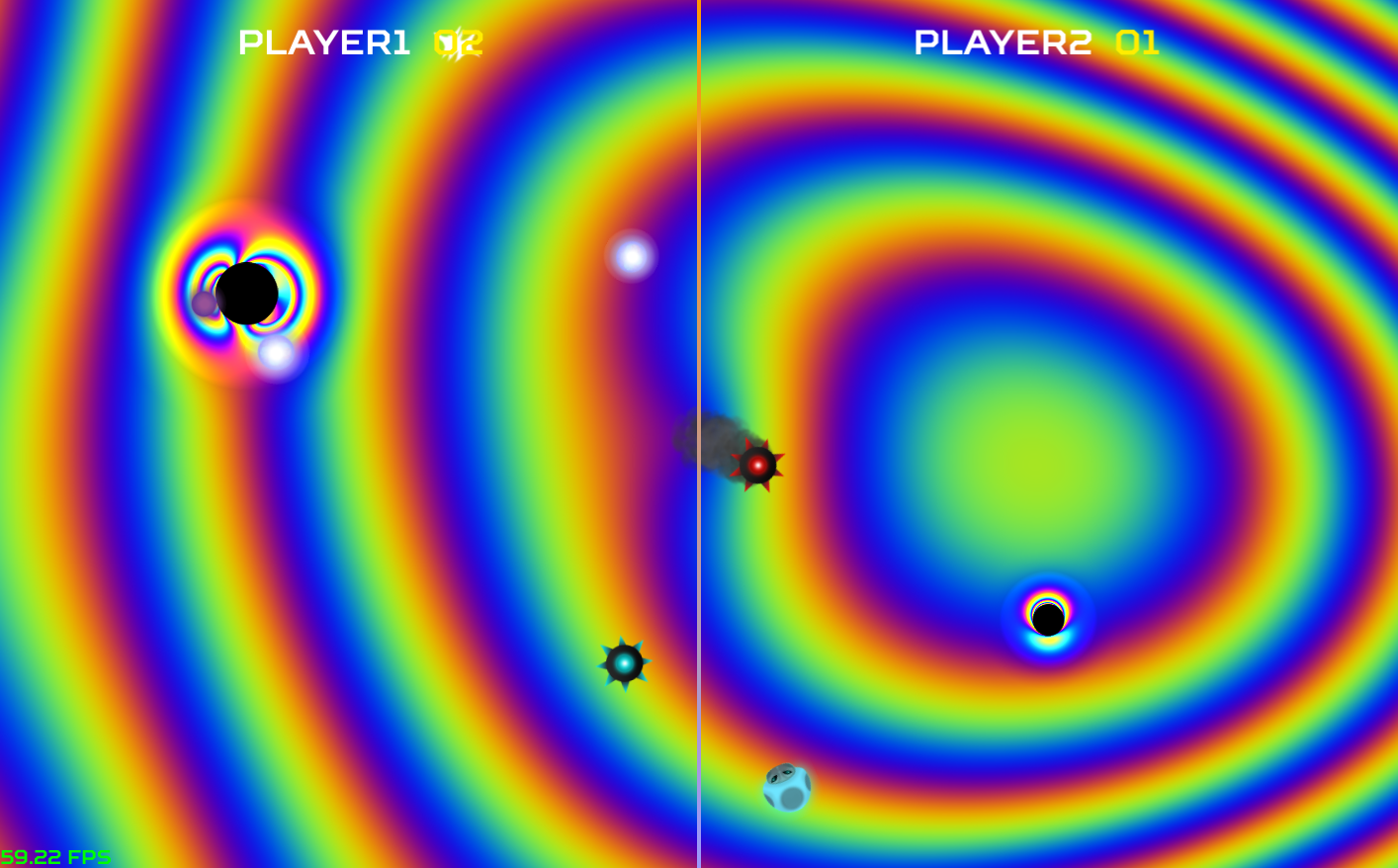 Black Hole Master screenshot. Image: laserlabs.itch.io